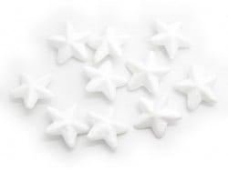 Lot de 10 étoiles polystyrène 4,5 cm - blanc Rico Design - 1