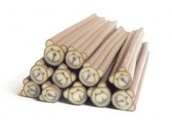 Acheter Cane nounours beige en pâte polymère - 0,99€ en ligne sur La Petite Epicerie - 100% Loisirs créatifs