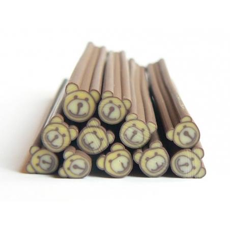Acheter Cane nounours beige en pâte polymère - 0,99€ en ligne sur La Petite Epicerie - Loisirs créatifs