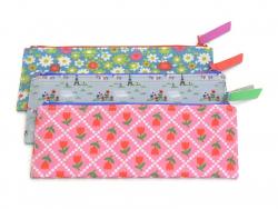 """Pencil case """"Paris - 14 July"""" (21 cm x 8 cm) - Fifi Mandirac"""