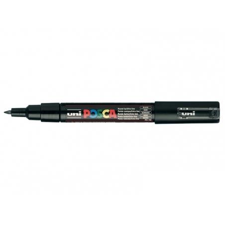 POSCA marker - ultra fine tip (0.7 mm) - black