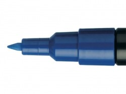 POSCA-Marker - extra feine Spitze (0,7 mm) - dunkelblau