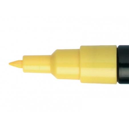 POSCA marker - ultra fine tip (0.7 mm) - straw yellow