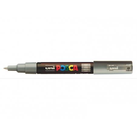 Acheter Marqueur posca - pointe extra-fine 0,7 mm - Gris - 3,10€ en ligne sur La Petite Epicerie - Loisirs créatifs