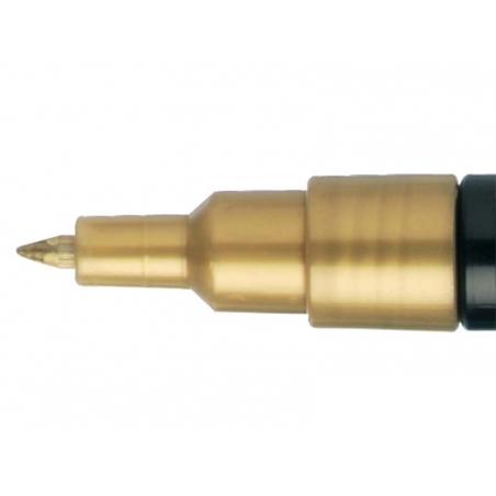 Acheter Marqueur posca - pointe extra-fine 0,7 mm - Or - 3,10€ en ligne sur La Petite Epicerie - Loisirs créatifs