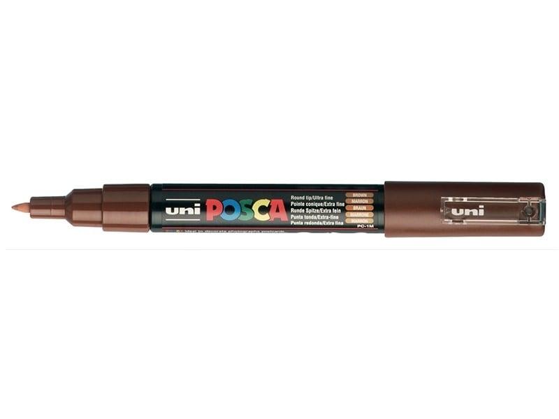 Marqueur posca - pointe extra-fine 0,7 mm - Marron