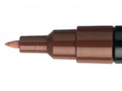 POSCA-Marker - extra feine Spitze (0,7 mm) - braun