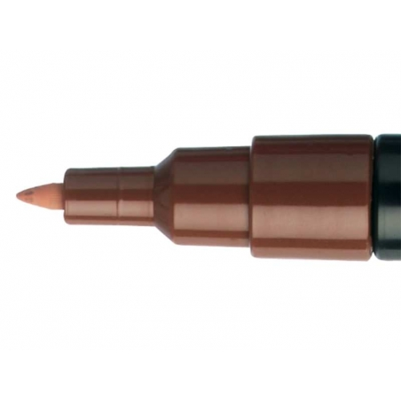 POSCA marker - ultra fine tip (0.7 mm) - brown