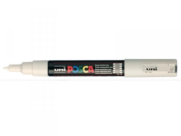 Acheter Marqueur posca - pointe extra-fine 0,7 mm - Blanc - 3,10€ en ligne sur La Petite Epicerie - Loisirs créatifs