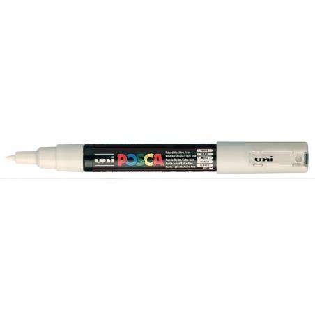 Marqueur posca - pointe extra-fine 0,7 mm - Blanc