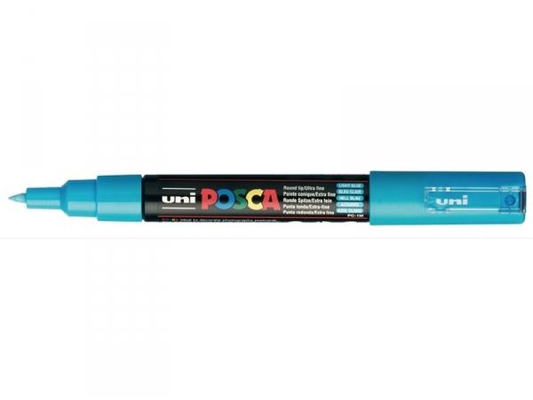 Acheter Marqueur posca - pointe extra-fine 0,7 mm - Bleu clair - 3,10€ en ligne sur La Petite Epicerie - Loisirs créatifs
