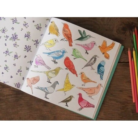 """French book """" Paris secret - carnet de coloriage"""""""