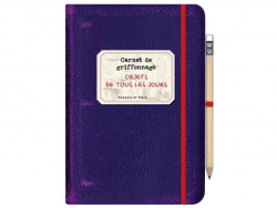 Livre Carnet de griffonnage - objets de tous les jours