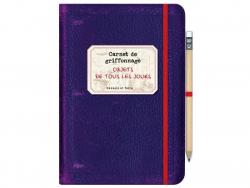 """French book """" Carnet de griffonnage - objets de tous les jours"""""""