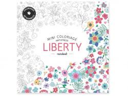 "Französisches Buch "" Mini coloriage antistress - liberty"""