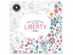 Livre Mini coloriage antistress - liberty