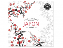 Livre Mini coloriage antistress - Japon
