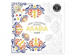 Livre Mini coloriage antistress - Arabia