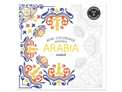 Livre Mini coloriage antistress - Arabia
