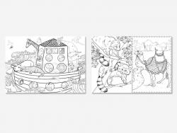 Livre Petites bêtes et grosses bestioles - 100 coloriages anti stress