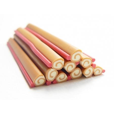 Acheter Cane bûche de noël en pâte fimo - 0,99€ en ligne sur La Petite Epicerie - Loisirs créatifs