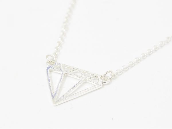Acheter Collier fin diamant - argenté - 9,90€ en ligne sur La Petite Epicerie - Loisirs créatifs