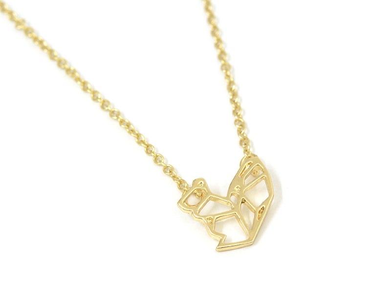 Acheter Collier fin écureuil - doré - 9,90€ en ligne sur La Petite Epicerie - Loisirs créatifs