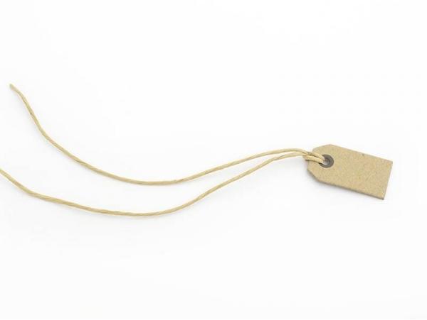 Acheter 1 petite étiquette cartonnée - kraft - 0,29€ en ligne sur La Petite Epicerie - 100% Loisirs créatifs