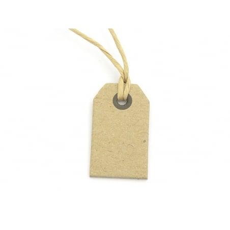 1 petite étiquette cartonnée -  kraft Kado Design - 2