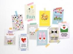 """Postkarte """"Toi+moi"""" (Du + ich)"""