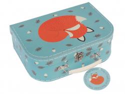 """3-teiliges Kofferset """"Rusty the Fox"""" - der Fuchs und seine Freunde"""