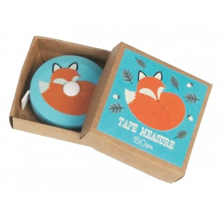 Mètre ruban 150 cm - Rusty the fox renard Dotcomgiftshop - 1