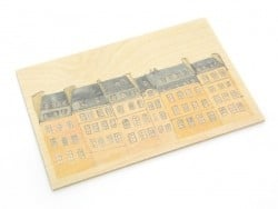 "1 carte postale en bois - ""Matelot"""