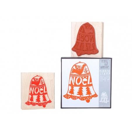 Christmas bell stamp
