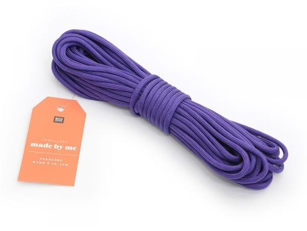 10m de Paracorde 4 mm - violet