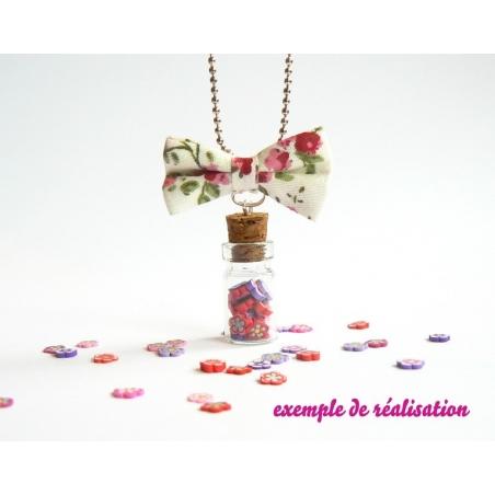 Acheter Cane fleur blanche et bordeau - 0,99€ en ligne sur La Petite Epicerie - 100% Loisirs créatifs
