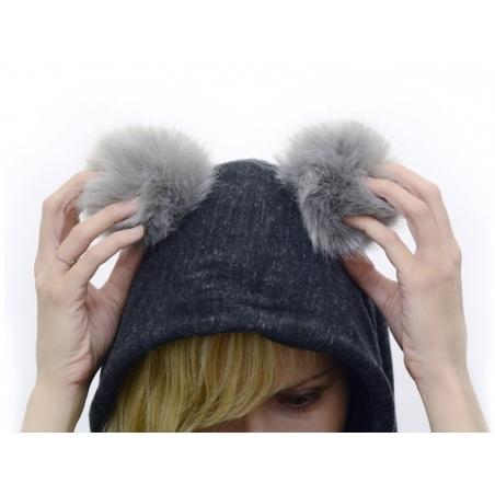 Acheter Pompon fausse fourrure - Blanc neige - 6,95€ en ligne sur La Petite Epicerie - Loisirs créatifs
