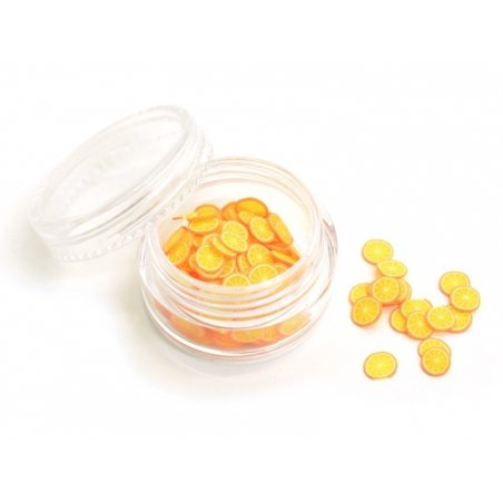 12 small round containers - 3 cm