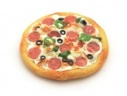 Pizza miniature - 30 mm