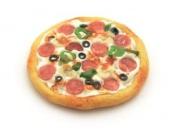 Pizza miniature - 30 mm  - 1