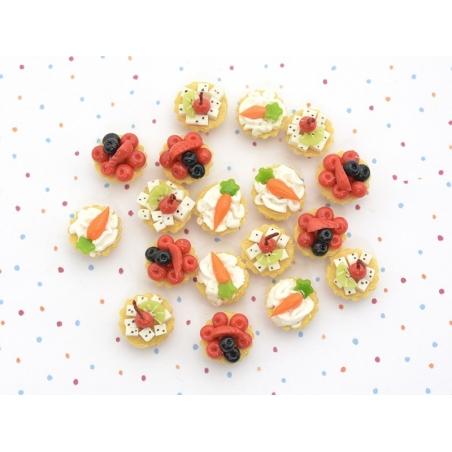 Acheter 1 tarte / cupcake miniature - carotte - 2,49€ en ligne sur La Petite Epicerie - 100% Loisirs créatifs