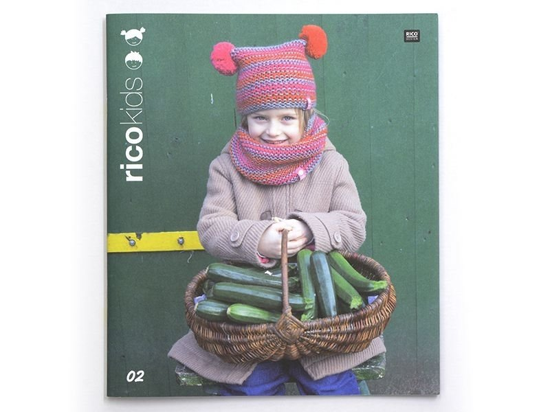 "French book "" Tricots Rico kids N°2"""