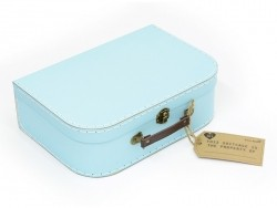 Set of 3 suitcases - Retro design / pastel colours
