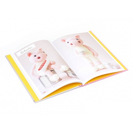 "French book "" Mes animaux au crochet - Isabelle Kessedjian"""