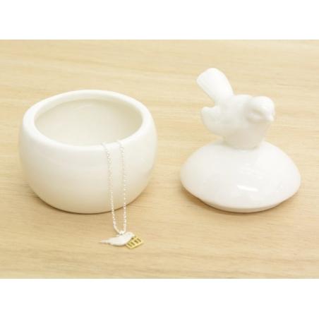 Acheter Boîte à bijoux oiseau en céramique - 7,5cm - 4,40€ en ligne sur La Petite Epicerie - Loisirs créatifs