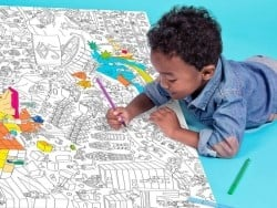 Giant colouring paper poster - Pyramid