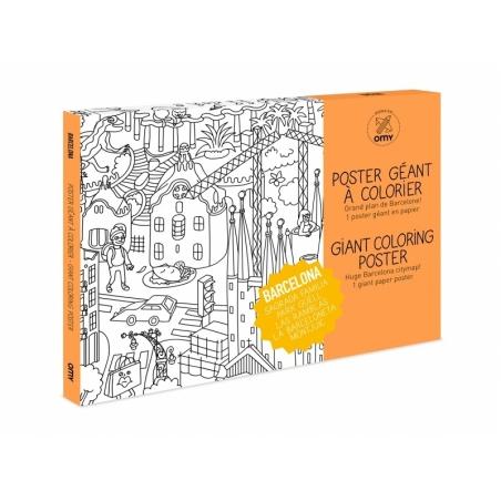 Acheter Poster géant en papier à colorier - BARCELONA - 9,90€ en ligne sur La Petite Epicerie - 100% Loisirs créatifs