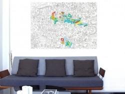 Acheter Poster géant en papier à colorier - SWITZERLAND - 9,90€ en ligne sur La Petite Epicerie - 100% Loisirs créatifs