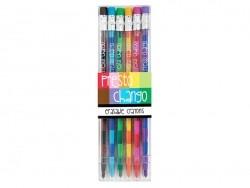 5 Crayons de couleurs à mines interchangeables