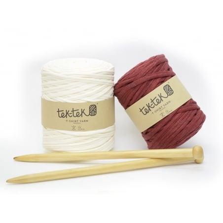 Bamboo knitting needles - 15 mm